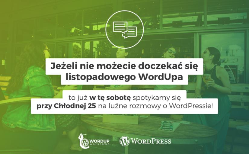 Spotkanie irozmowy oWordPress