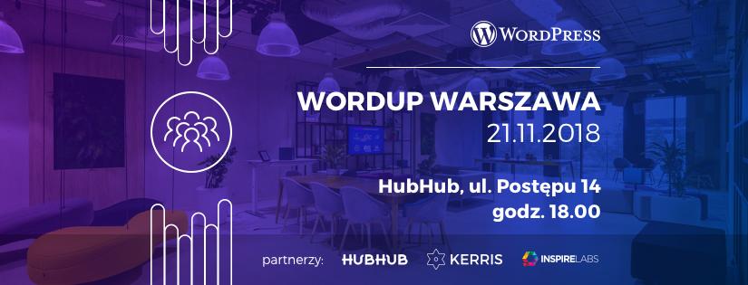 WordUp Warszawa #beginner listopad 2018