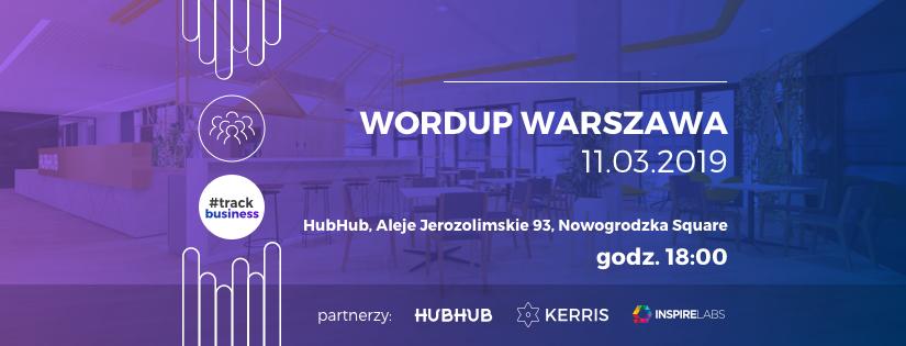WordUp Warszawa – #business 2019