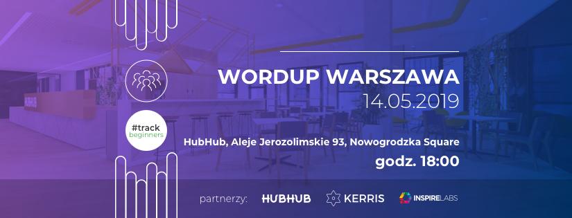 WordUp Warszawa #beginners 2019