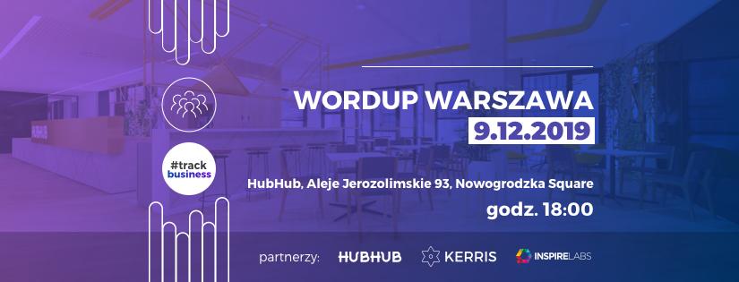 WordUp Warszawa #business 9.12.2019